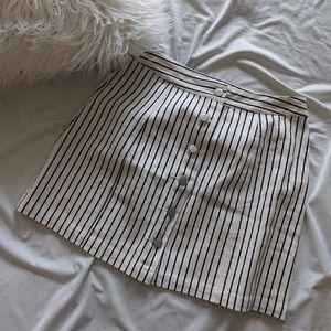 BOHME | Striped Skirt